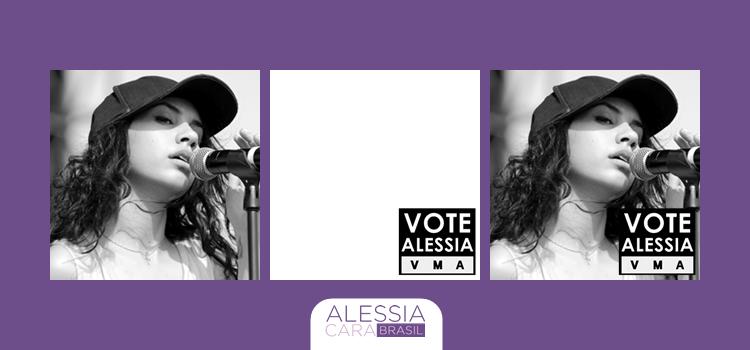 Use o nosso twibbon e mostre o seu apoio a Alessia no VMA 2016!