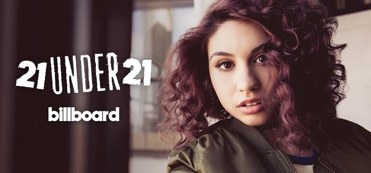 """Alessia Cara entra para a lista """"21 Under 21"""" da Billboard de 2016"""