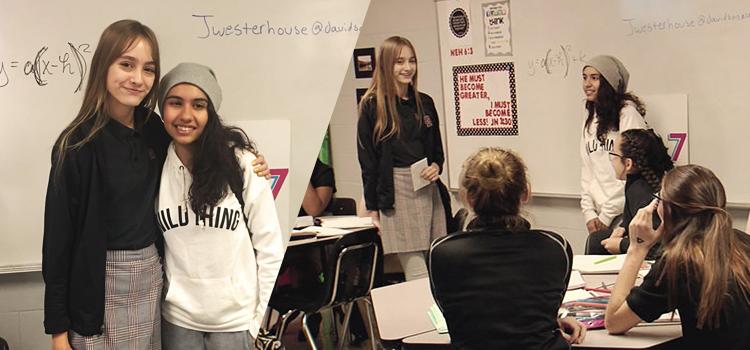 Pop star Alessia Cara visita Davidson Academy para falar sobre bullying