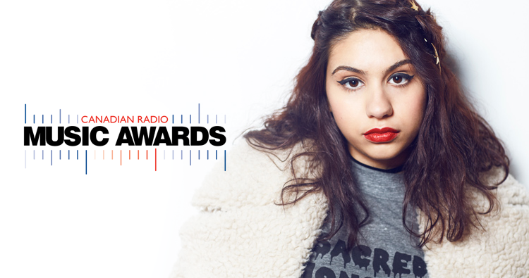 Alessia Cara é indicada ao Canadian Radio Music Awards 2017