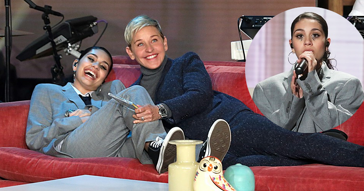 "Alessia Cara performa ""Not Today"" no The Ellen DeGeneres Show"